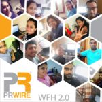 Work from Home: The PR WIRE story